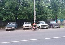 Борьба за парковочные места в Москве: все средства хороши