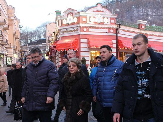 Валентина Матвиенко оценила работу губернатора Ставрополья поразвитию Кисловодска