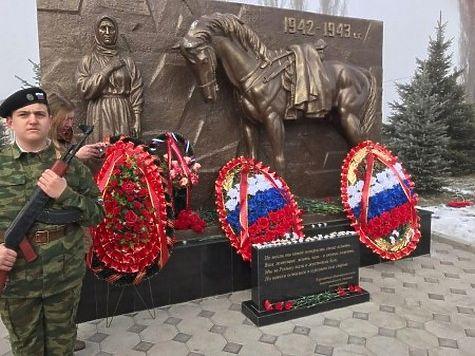 Монумент  погибшим вВОВ новочеркасским курсантам открыли вКабардино-Балкарии