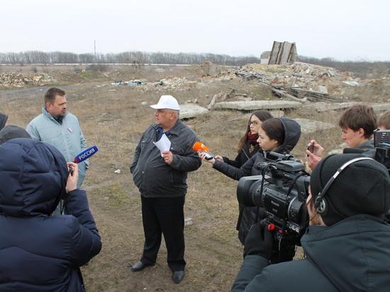 Свалка на границе с Русским лесом Ставрополя выросла до 9 га