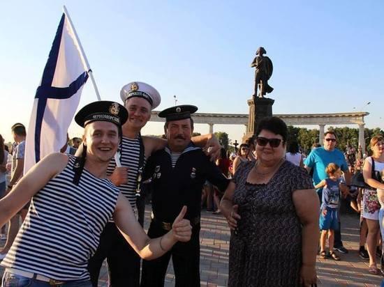 В Михайловске широко отметили День Военно-морского флота