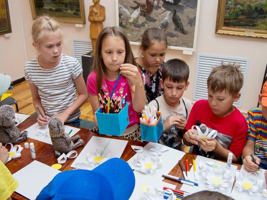 Ставропольский музей изобразительных искусств продолжает радовать юных горожан творческими проектами