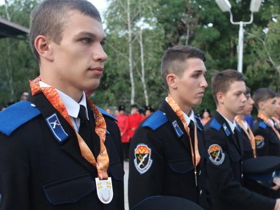 Кизлярские казаки приняли участие вXX молодежных казачьих играх вЖелезноводске