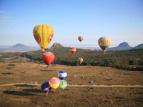 Фестиваль воздухоплавания открылся на Кавминводах