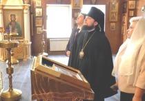 В ИДНК прибыл Викарий Святейшего Патриарха Московского и всея Руси Серафим