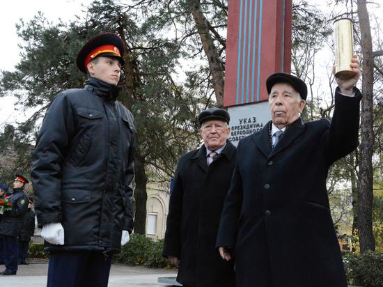 Граждане Ставрополя заложили капсулу спосланием потомкам в2067 год