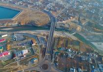 Глава КЧР Рашид Темрезов открыл современный мост на трассе «Черкесск – Домбай»