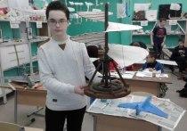 Подмосковный школьник создал вертолет по чертежам да Винчи