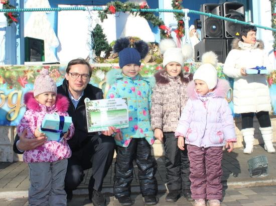 В Железноводске новогодние торжества отмечали по-новому