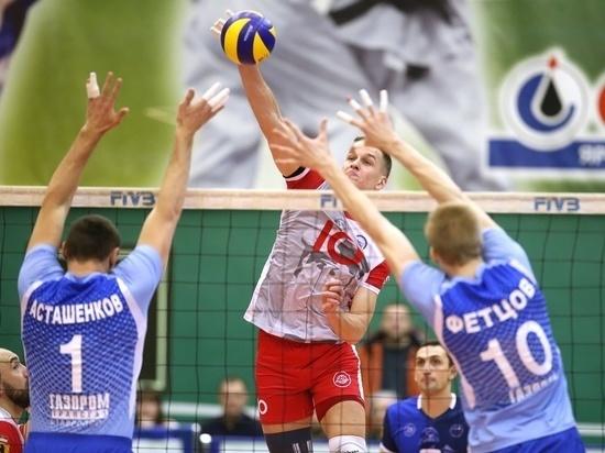 Северокавказские волейболисты поделили очки с соперниками