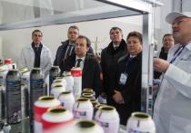 Высокоскоростную линию аэрозольных баллонов благодаря Сбербанку запустил в Невинномысске Дворкович