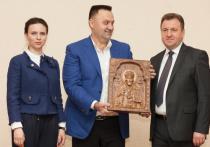 Главе стройгруппы «Третий Рим» Ставрополья вручили премию «Признание»